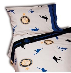 drap fc inter 100445 pour seulement 57 80 sur merchandisingplaza. Black Bedroom Furniture Sets. Home Design Ideas