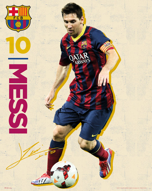 Poster FC Barcelone 107871