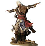 Assassin´s Creed IV Black Flag statuette PVC Edward Kenway The Assassin Pirate 24 cm