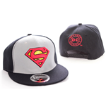 Superman casquette baseball College noir/gris