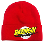 The Big Bang Theory bonnet Bazinga