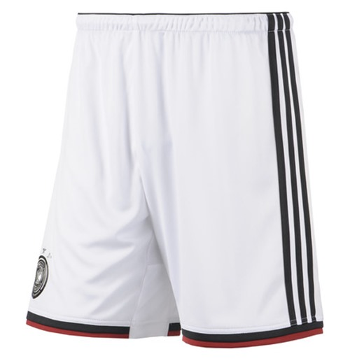 Allemagne Short Home Adidas 2014-15 World Cup