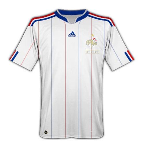 maillot adidas france 2010