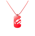 Superman pendentif dog tag Cut Out Logo