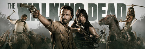 Poster The Walking Dead Banner