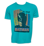 T-shirt Batman Up All Night Junk Food pour Homme - Retro