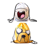 Adventure Time sac en toile réversible Finn & Jake