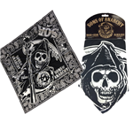 Sons of Anarchy Bandana Skull Logo