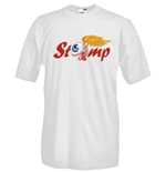 T-shirt col rond manches courtes - Impression flex - STOMP