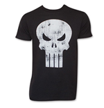 T-shirt The punisher Skull Logo Délavé