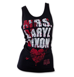 Débardeur The Walking Dead Mrs. Daryl Dixon Blood Splatter