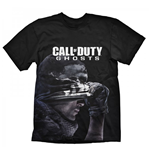 Call Of Duty T-shirt Ghosts Disguise M, Noir