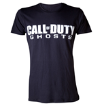 Call Of Duty T-shirt Ghosts Men's Logo  L,  Noir