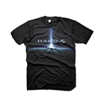 Halo 4 T-shirt In The Stars Medium, Noir