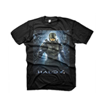 Halo 4 T-shirt The Return L, Noir