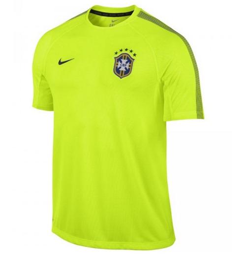 0ae471e7b8 Achetez Brésil Maillot d'entraînement Nike Coupe du Monde 2014