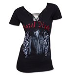 T-shirt The Walking Dead Dary! Dixon Angel Wings pour Femme
