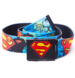 Dc Comics Batman Graffiti Ceinture Canvas - Comic Art Webbing