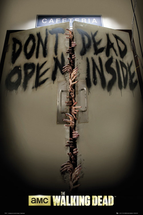 Poster Walking Dead Keep Out