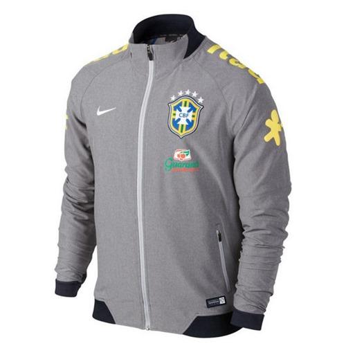 Veste de Survetement Nike Brasil CBF N98 Blanc