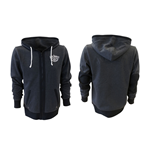 Jack Daniel's Classic Old No. 7 Sweat à Capuche Full Zip - S, Gris