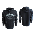 Jack Daniel's Classic Old No.7 Sweat à Capuche XL, Noir