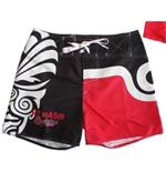 Short All Blacks Maori Rouge
