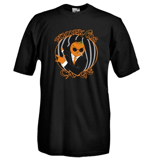 T-shirt col rond manches courtes - Impression flex - PumpKins Cage