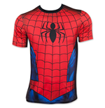 Spiderman sublimé T-shirt Athletic pour homme