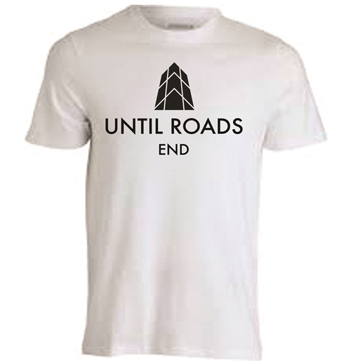 Tee-shirt 100% polyester blanc à sublimation - Until Roads End