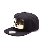 The Legend of Zelda casquette hip hop Snap Back Golden Metal Plate