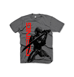 Metal Gear Solid T-shirt Rising Raiden - L, Gris Foncé