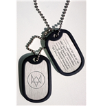Watch Dogs pendentif Dog Tag Fox Wanted