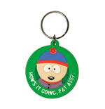 South Park porte-clés caoutchouc Stan - Fat Ass 6 cm