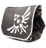 Sac à Bandoulière The Legend of Zelda Logo Noir/Blanc