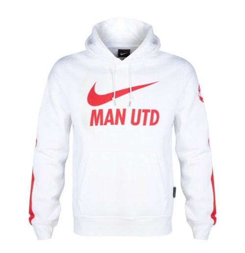 971489f0e3c7 Achetez Manchester United FC Sweat à Capuche Nike 2014-15 (Blanc)