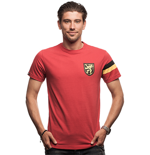 Belgique T-shirt du Capitaine // Rouge 100% coton