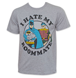T-shirt Batman And Robin I Hate My Roommate pour Homme