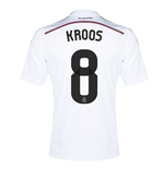 Real Madrid Maillot Domicile Adidas 2014-15 (Kroos 8)