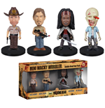 The Walking Dead pack figurines Wacky Wobbler Bobble Head 8 cm