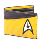 Portefeuille Double Volet Star Trek Into Darkness Jaune/Gris Sombre
