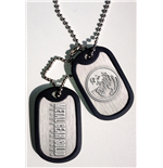 Metal Gear Solid pendentif Dog Tag Peace Walker