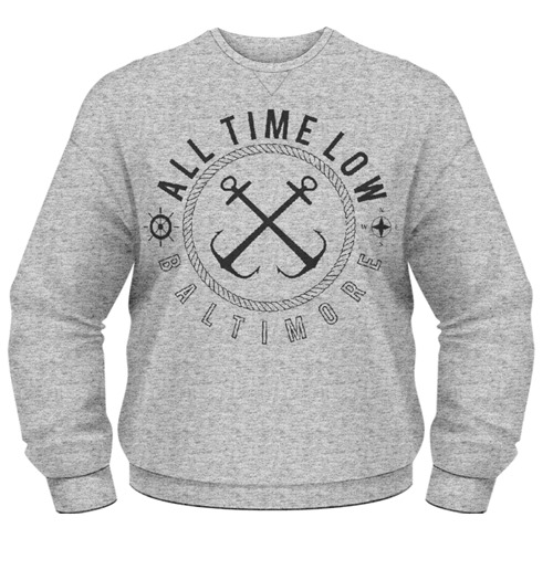 Sweat-shirt All Time Low - Sea Sick
