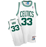Maillot adidas Boston Celtics #33 Larry Bird Soul Swingman Home