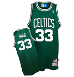 Maillot adidas Boston Celtics #33 Larry Bird Soul Swingman Road