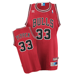 Maillot adidas Chicago Bulls #33 Scottie Pippen Soul Swingman Road
