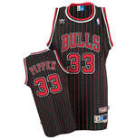 Maillot adidas Chicago Bulls #33 Scottie Pippen Soul Swingman Alternate