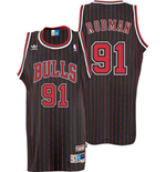 Maillot adidas Chicago Bulls #91 Dennis Rodman Soul Swingman Alternate