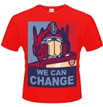T-shirt Transformers - We Can Change