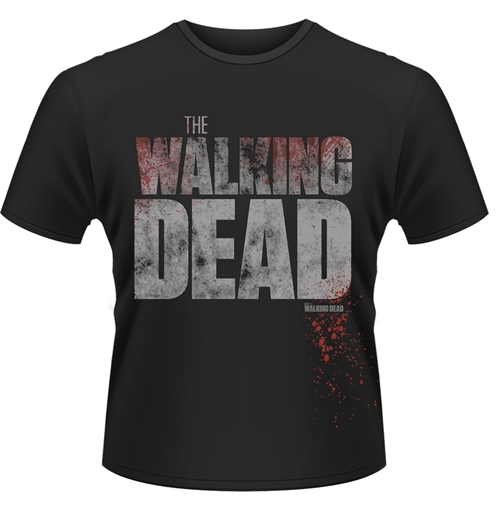 T-shirt The Walking Dead - Splatter